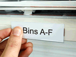 Aisle marker labels