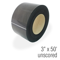 Plain Magnetic Roll Stock, 3 in. x 50'